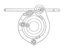 Центратор эксцентриковый Ж08А8051 57-119 мм